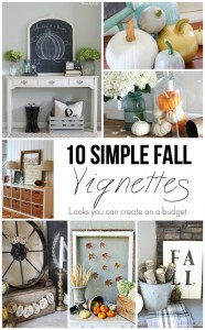 10 simple fall vignettes