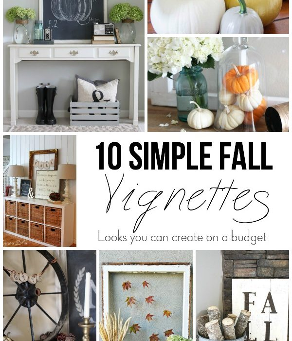 10 Easy Fall Vignettes