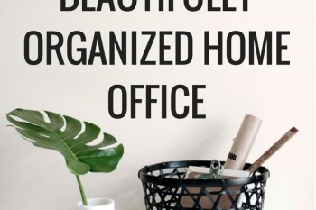 5 Steps to a beautifully organized home