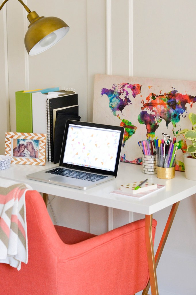 5 steps to a beautifully organized home office