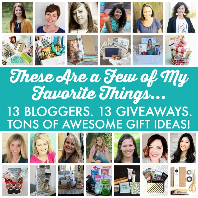 Favorite Things Giveaway | JustAGirlAndHerBlog.com