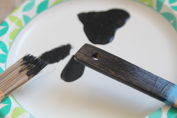 Painted Wooden Utensil Gift Set