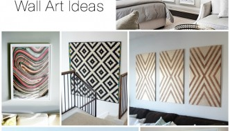 Decorating Large Walls – 10 Blank Wall Solutions