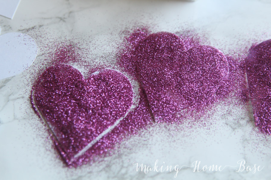 Glitter Heart Garland-4-2