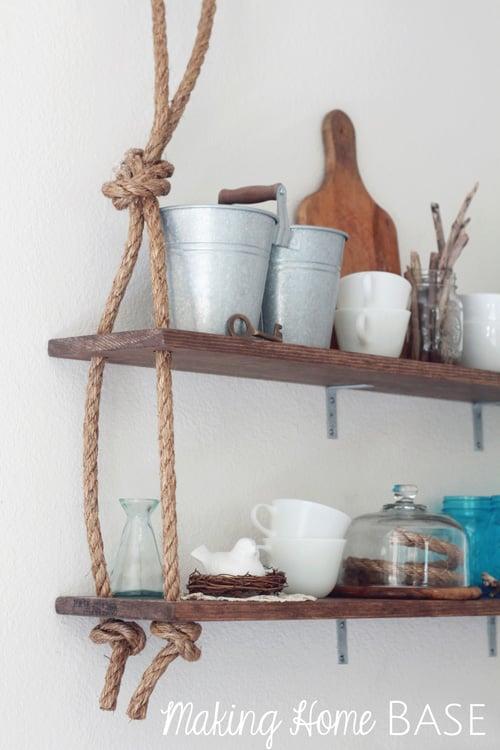 diy shelves 18 diy shelving ideas. Black Bedroom Furniture Sets. Home Design Ideas