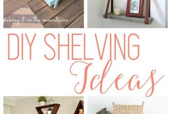 DIY Shelving Ideas