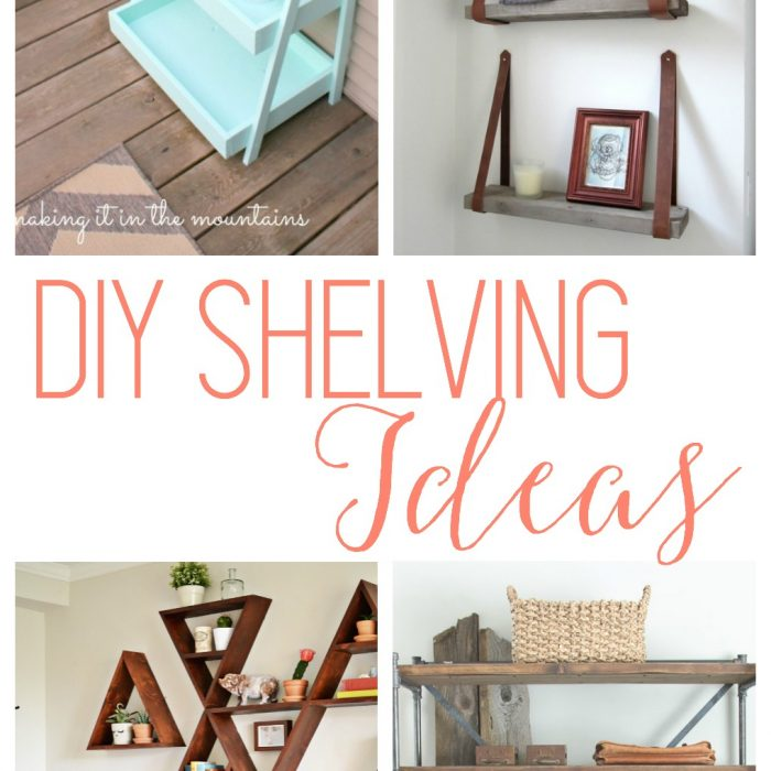 DIY Shelves – 18 Shelving Ideas