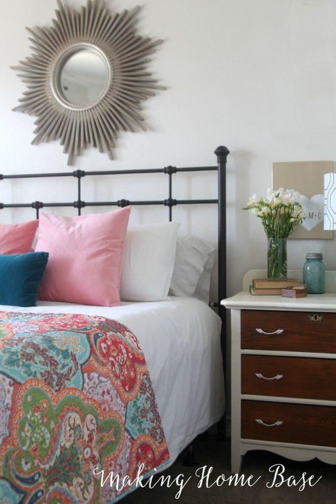 Spring bedroom updates