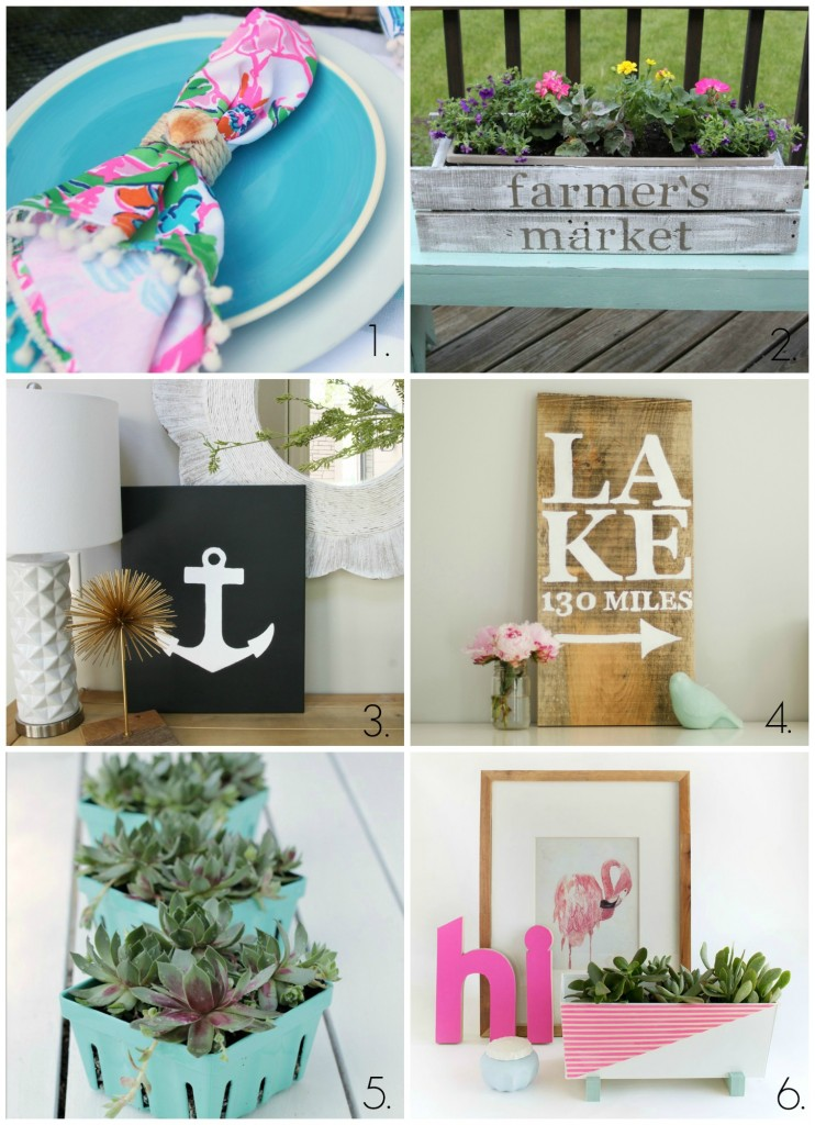 collage of blogger projects- Maison de Pax