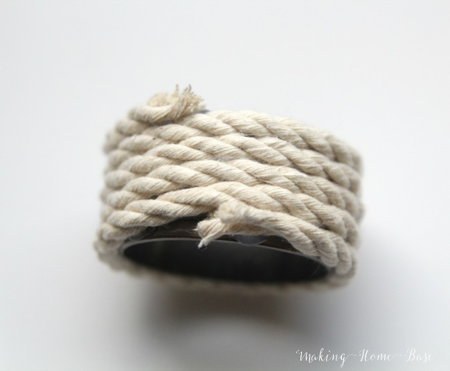 Nautical Napkin Ring DIY