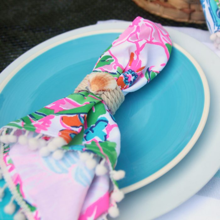 Summer Seashell Napkin Rings