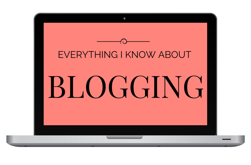 everything I know about blogging