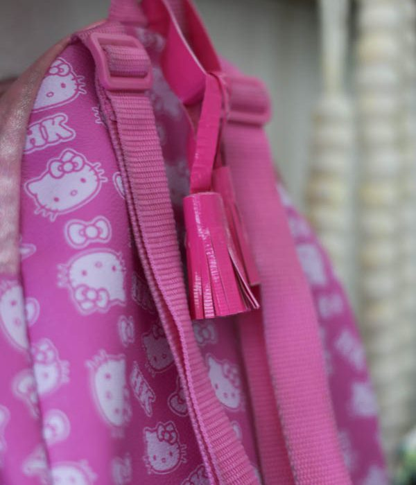Duck Tape Tassels for Easy Backpack Personalization!