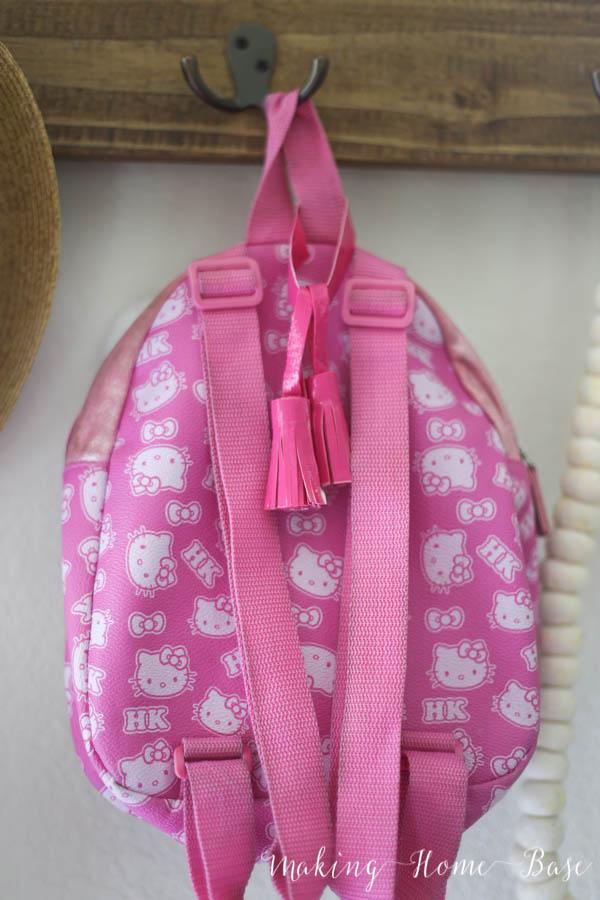 Backpack tassels