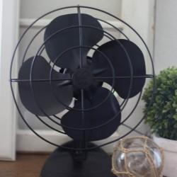 Painted Vintage Fan Makeover-2