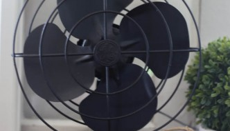 Painted Vintage Fan Makeover-2