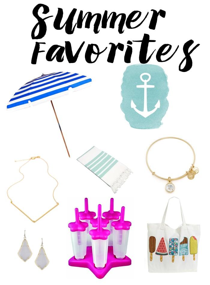 Summer Favorites + A Zeeberry.com Giveaway