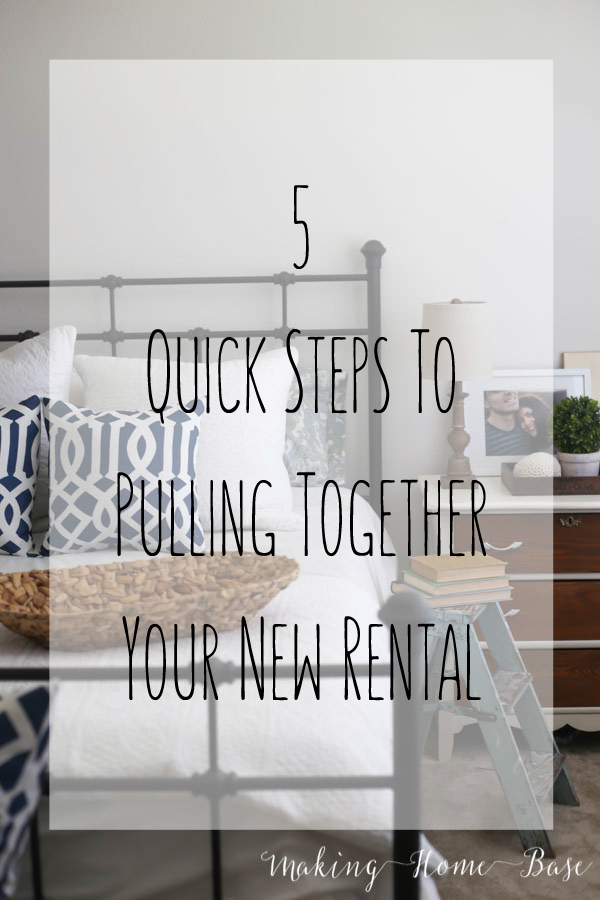 5 steps to pulling together your new rental