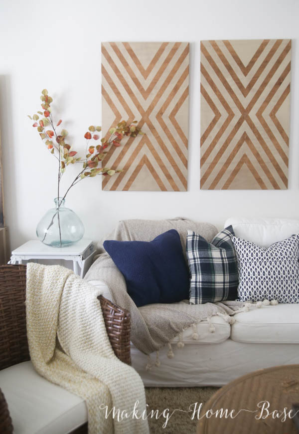 Decorate simply and add elements of cozy throughout your home with these tips