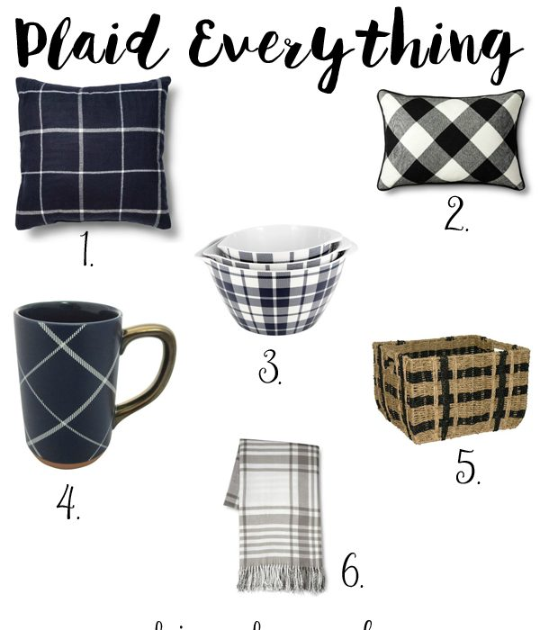 This Season it's Plaid Everything