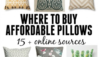 Where To Buy Affordable Pillows – 15+ online sources!