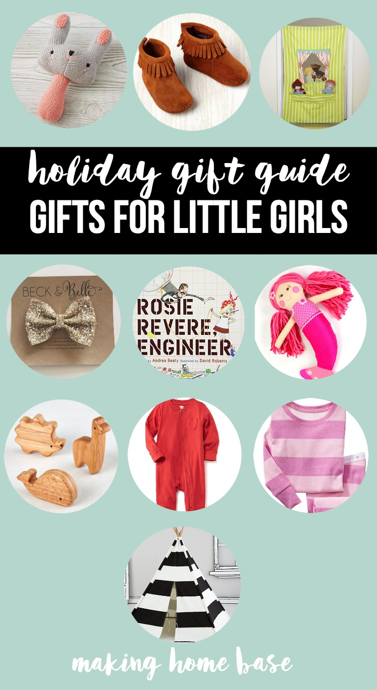 holiday gift guide - gift ideas for little girls