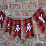Christmas Printable – Plaid Merry Banner