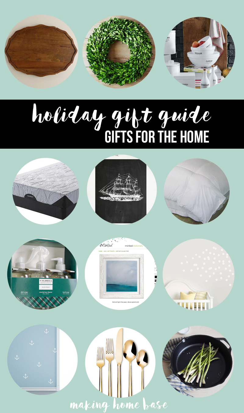 holiday gift guide gifts for the home