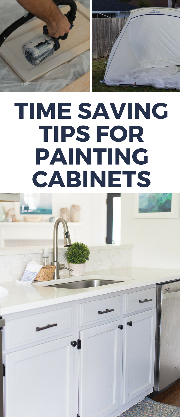 How To Paint Oak Cabinets Without Showing The Grain