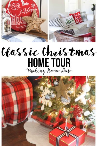 Love this Classic Christmas home tour - simple yet elegant !