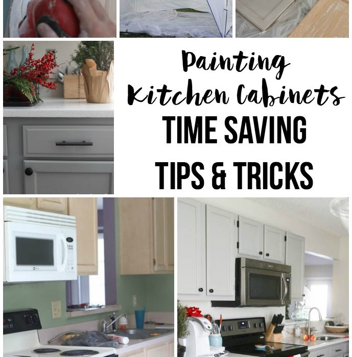 Kitchen Updates – Painted Cabinets and More!