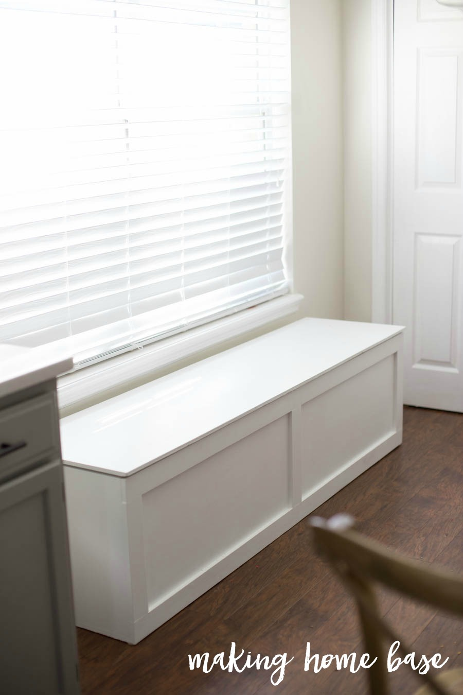 How To Build A Window Seat Making Home Base