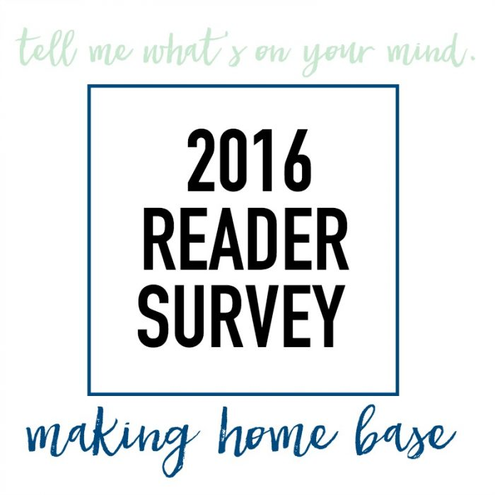 2016 Reader Survey