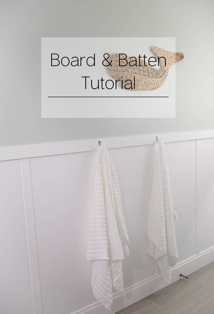 Elevate your space by adding a simple yet impactful wall treatment - this board and batten tutorial is great!