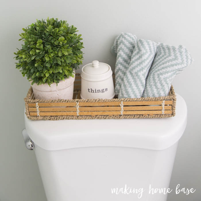 Budget Friendly Bathroom Makeover