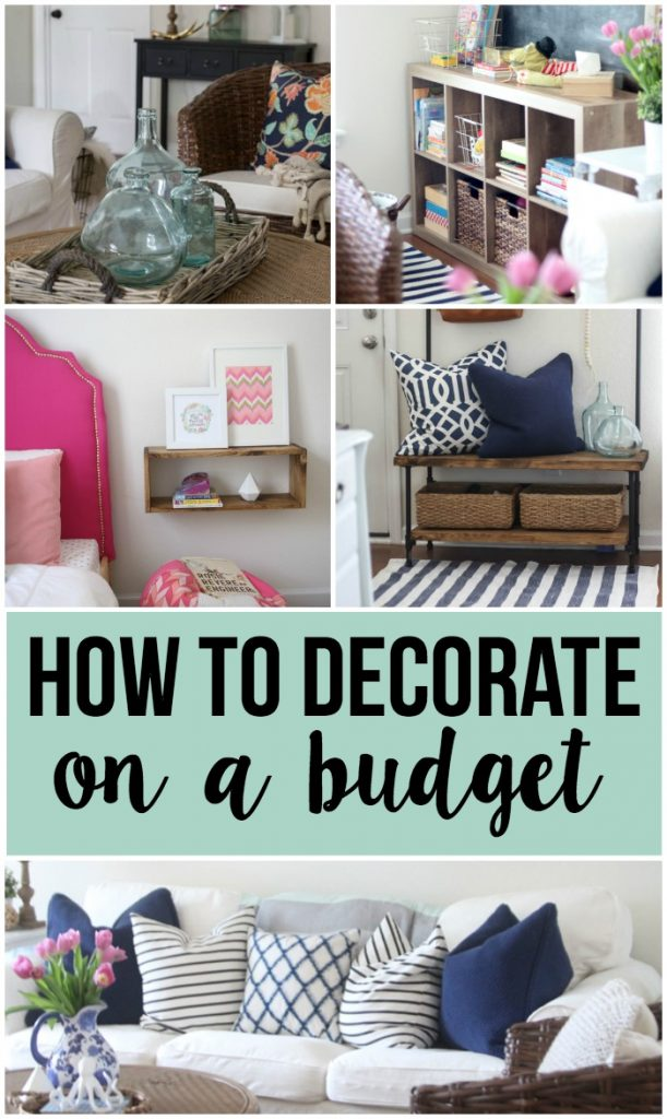 Decorating On A Budget decorating on a budget - making home base