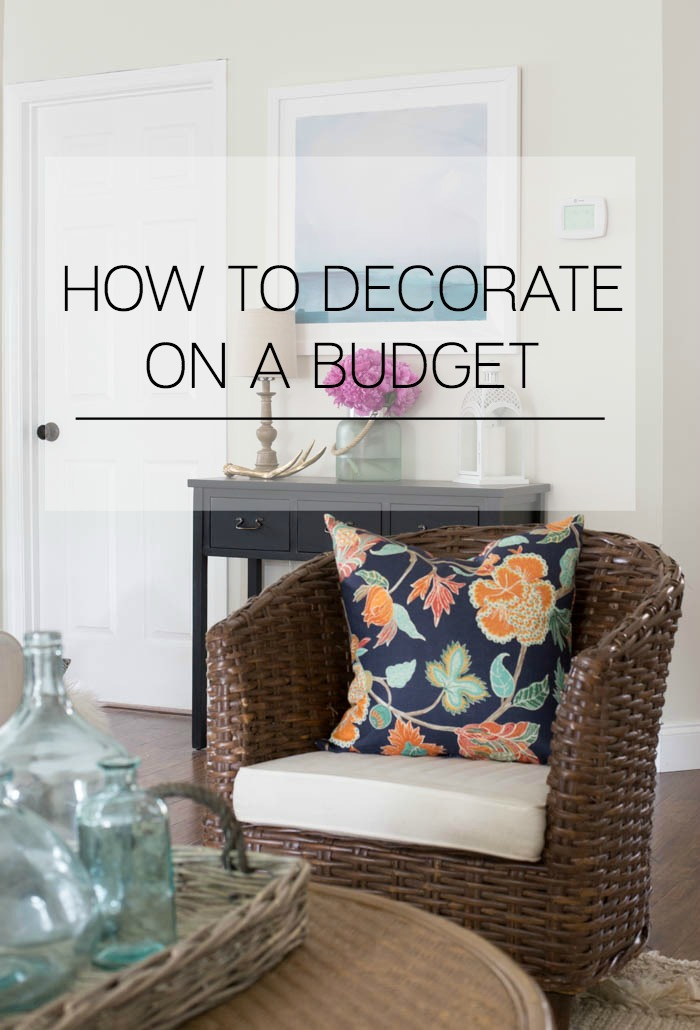 Decorating on a budget making home base for Home decor on a budget