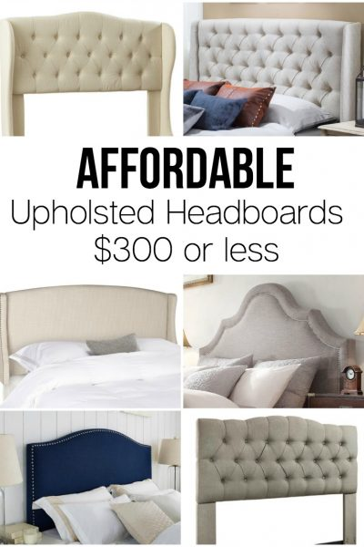 Affordable headboards for $300 or less