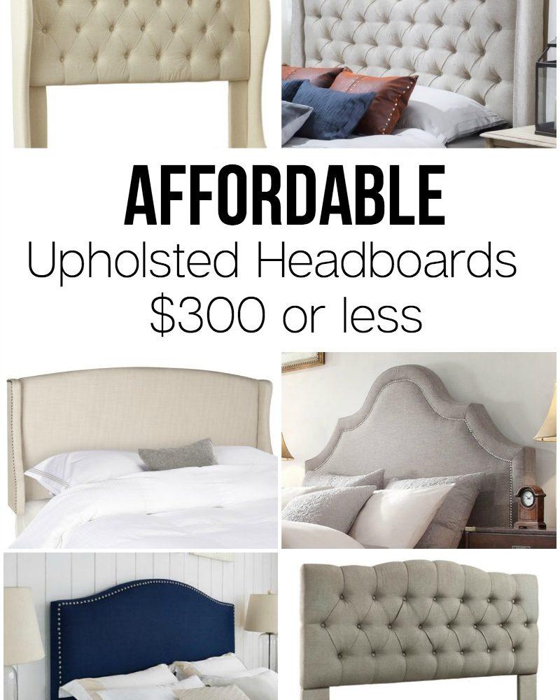 Affordable Upholstered Headboards