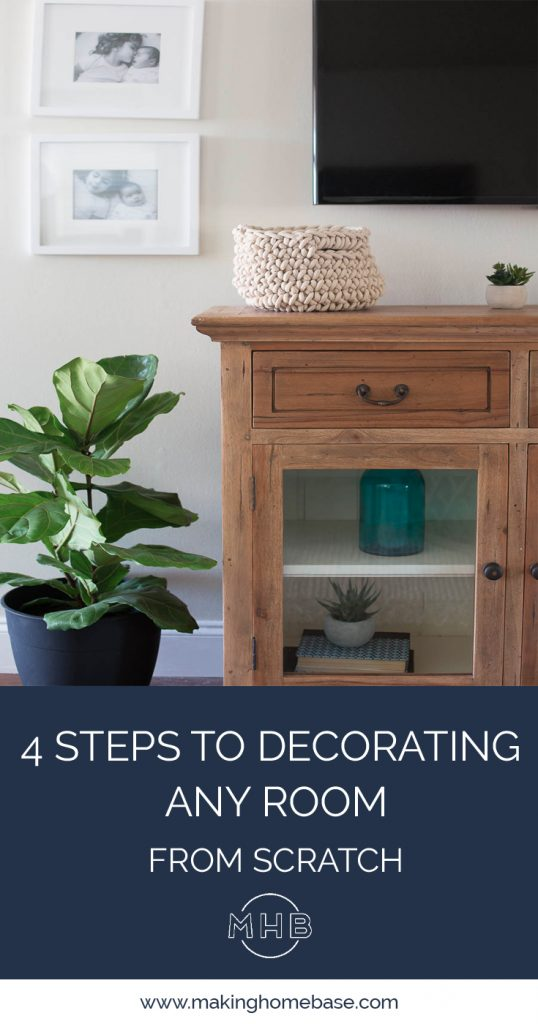 4 Steps To Decorating ANY Room From Scratch