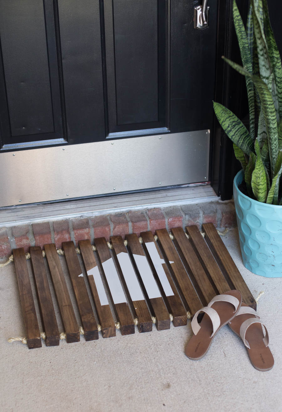 Summer Home Tour Front Door