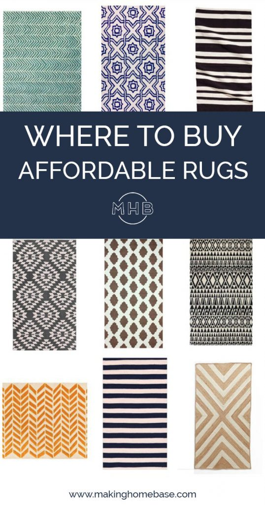 Where to Buy Affordable Area Rugs