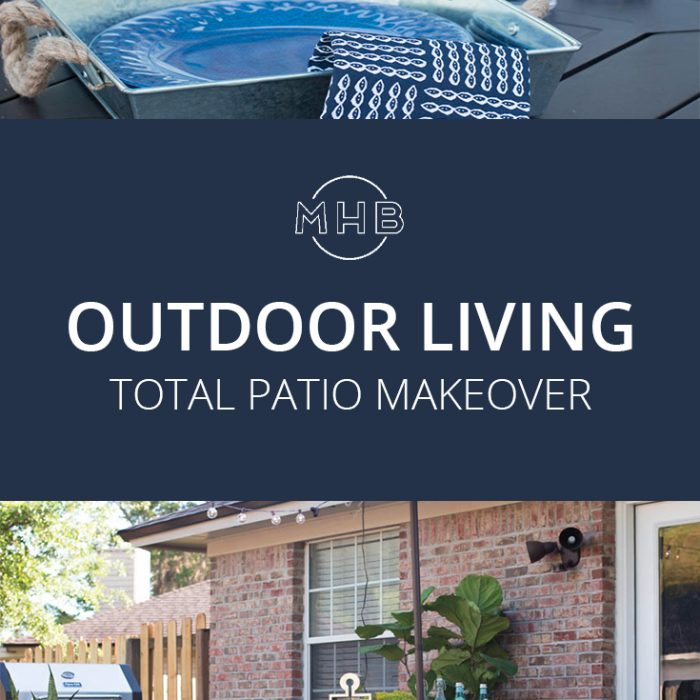 Sad to Stylish – Our Patio Makeover