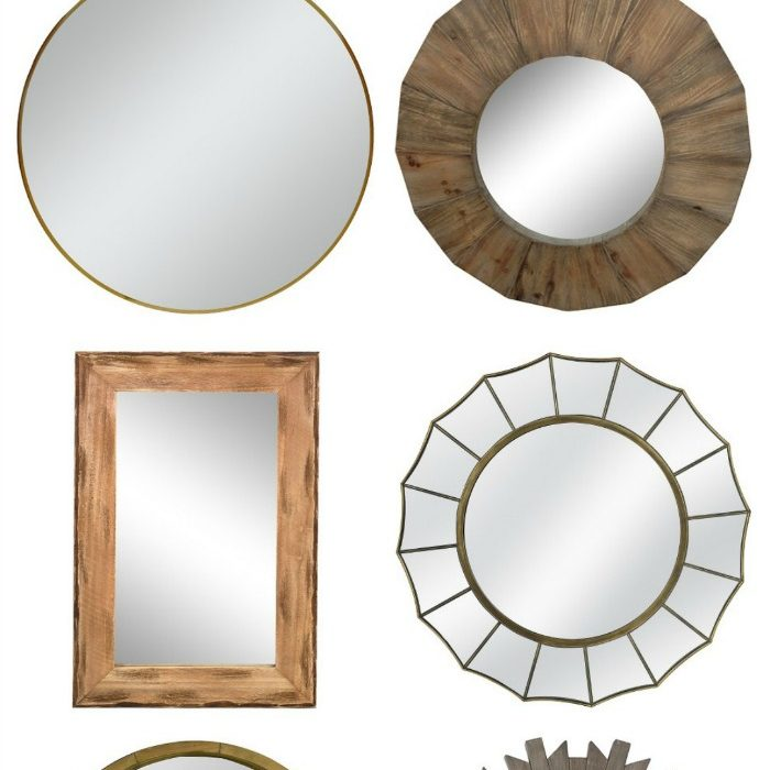 Stylish Wall Mirrors for Less than $50