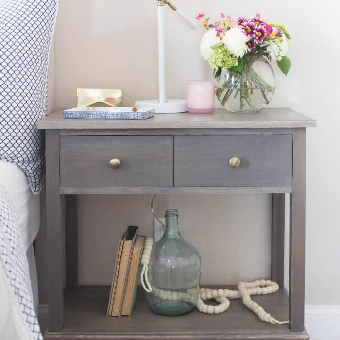 DIY Pottery Barn Inspired Nightstands