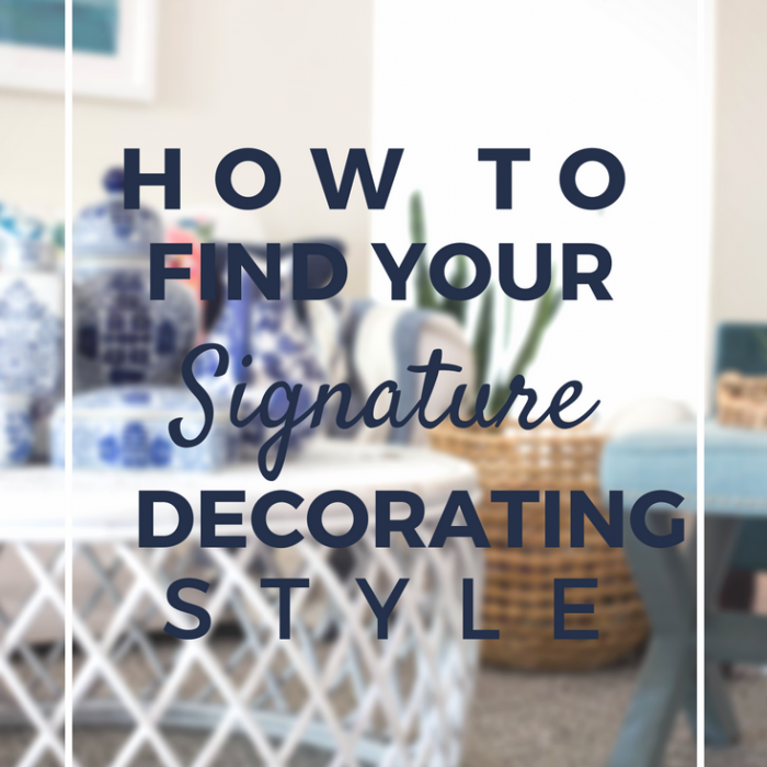 Find Your Decorating Style Home Decor Archives  Making Home Base