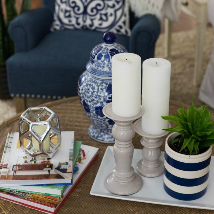 Coffee Table Styling – 3 Ways
