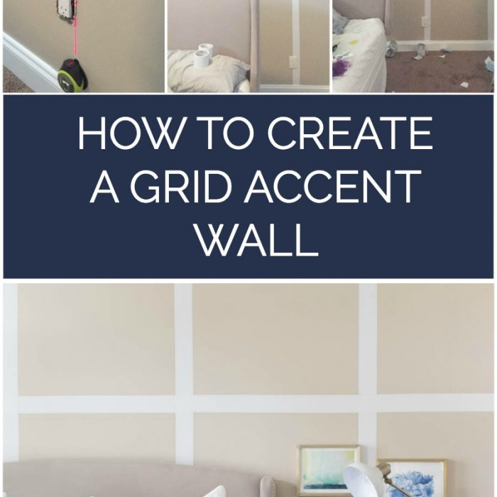 How To Create A Grid Accent Wall