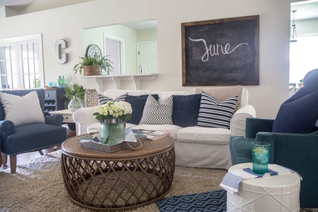Decorating for Summer - A Home Tour