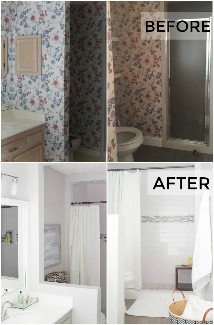 Master Bathroom Makeover Diy Projects Galore